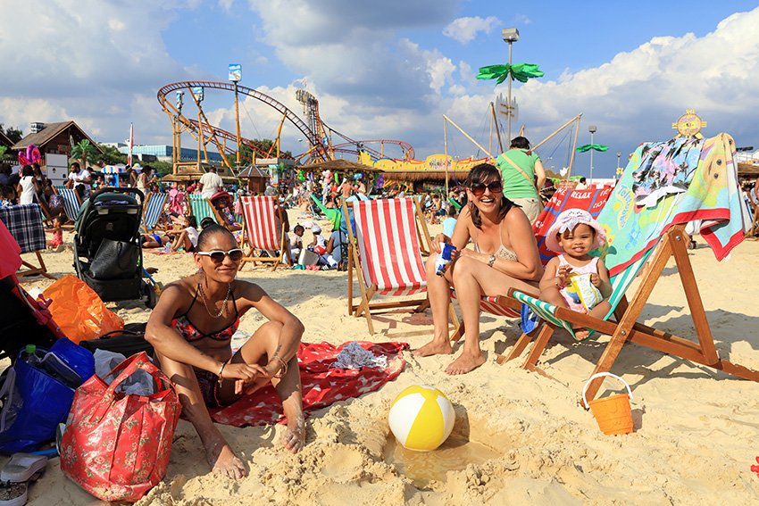 The Beach at Bluewater: A Children's Paradise